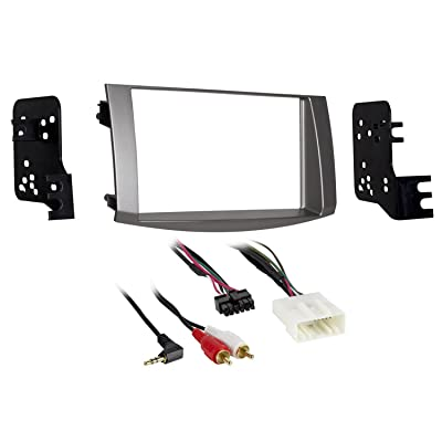 Metra 95-8215S Double DIN Dash Kit for Select 2005-2010 Toyota Avalon Vehicles (Silver): Car Electronics