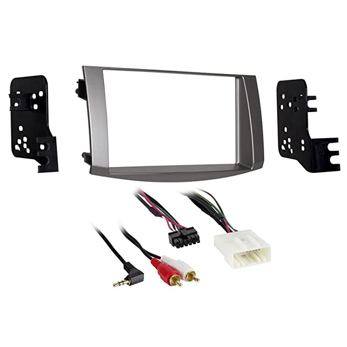 Metra 95-8215S Double DIN Dash Kit for Select 2005-2010 Toyota Avalon Vehicles (Silver)