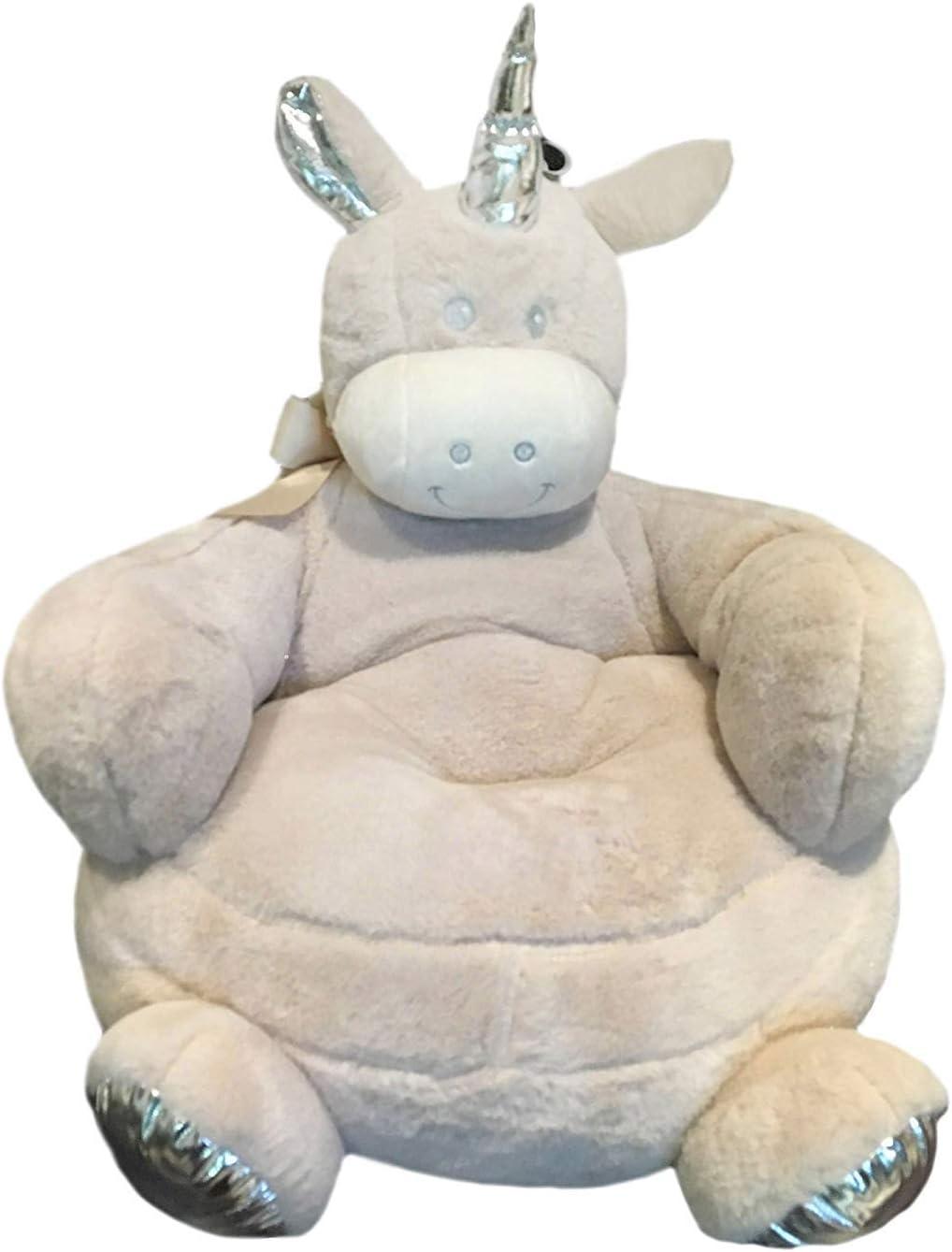 Silla para Niños, Sillón - Sofá Confort  con dibujo de Animal(Unicorn,01)