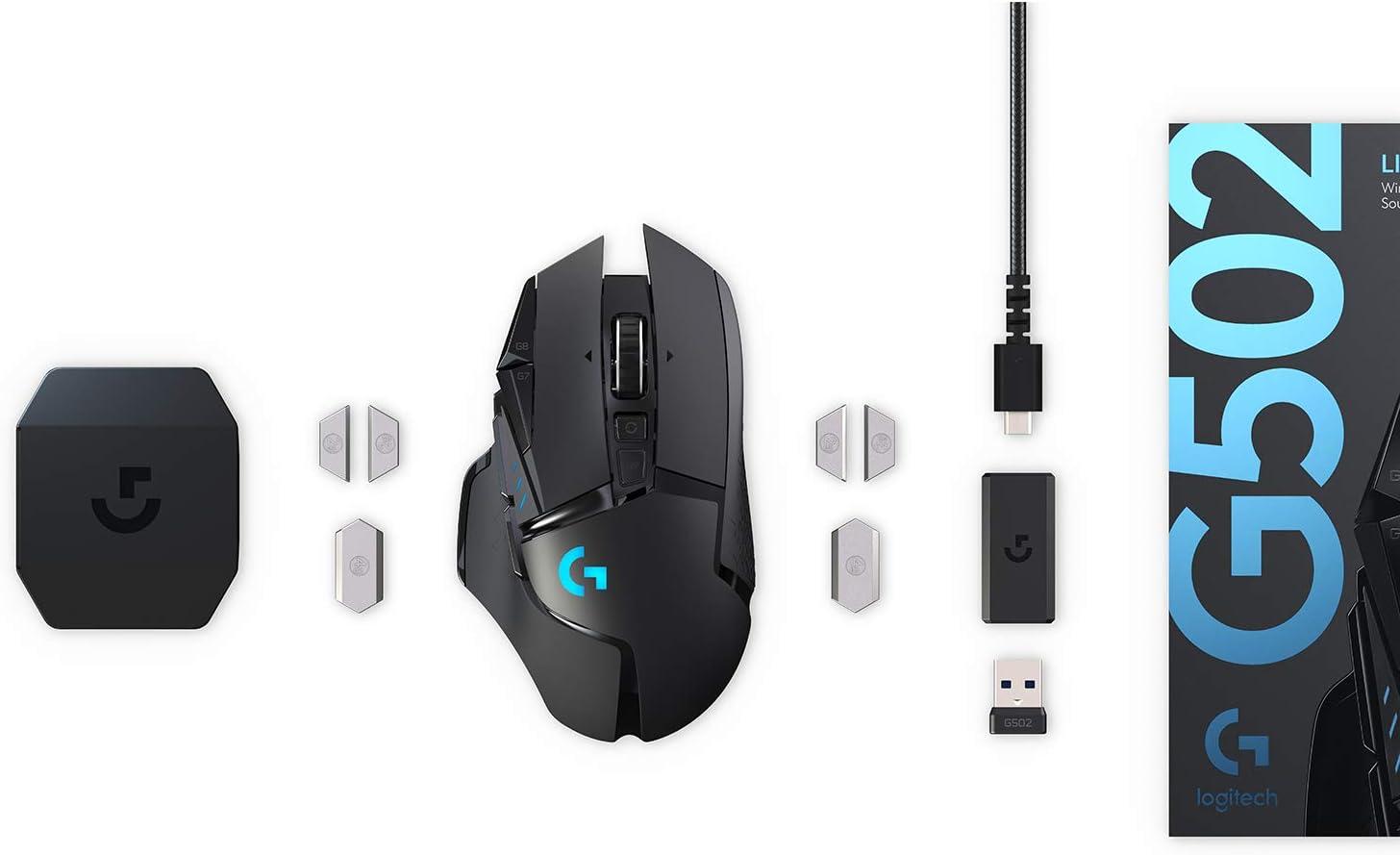 Logitech G502 Hero High-Performance Gaming Maus G213 Prodigy Gaming-Tastatur RGB-Beleuchtung Hero 16000 DPI Optischer Sensor