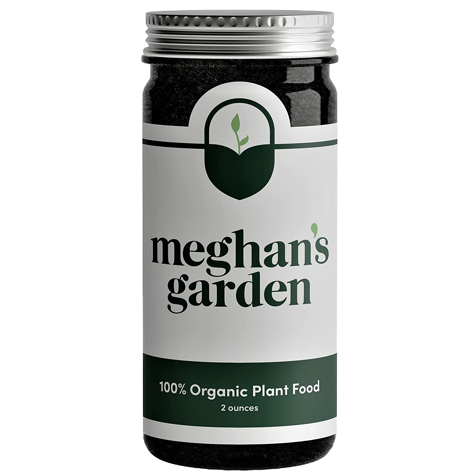 Meghan's Garden All-Purpose Plant Food | Indoor & Outdoor Use | Potted Plants | Water-Soluble Fertilizer | 100% Organic | Easy Shake | 2 oz. | Made in USA | Succulents, Herbs, Fruits & Vegetables