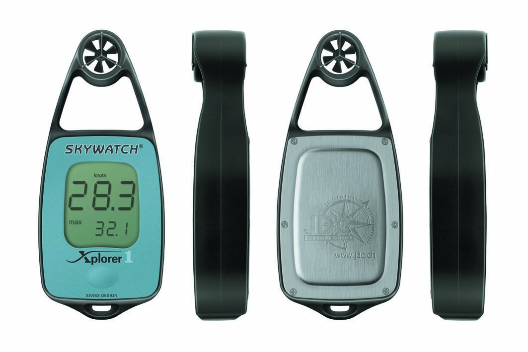 JDC Electronics Skywatch Xplorer 1 Wind Meter - Blue