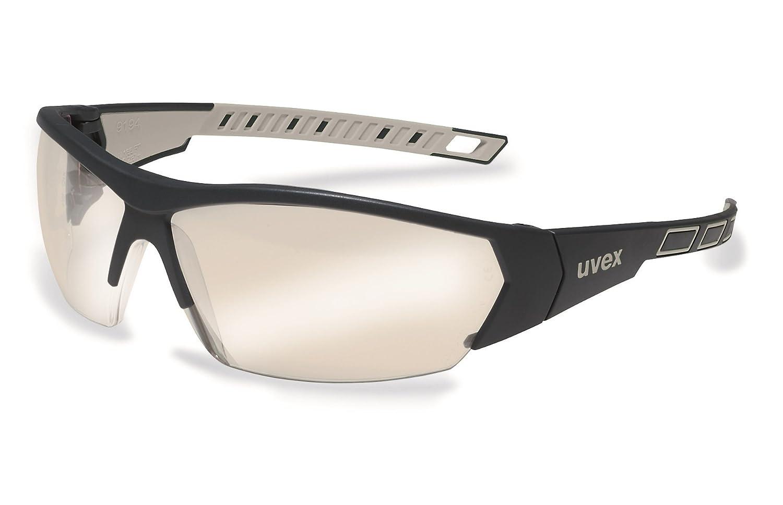 grau//verspiegelt Sonnenbrille Schutzbrille Sportbrille Arbeitsbrille Radbrille uvex i-works 9194 Unisex Brille EN 166 mit UV-Schutz
