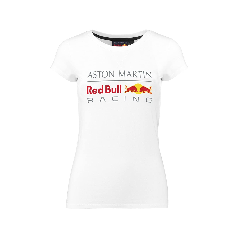 Aston Martin rosso rosso rosso Bull Racing 2018 F1 Team da donna RBR logo t-shirt da ragazza, bianca, Ladies (L) UK 14 EU 40   Prestazioni Superiori    Design moderno    A Basso Prezzo    Portare-resistendo    Moda moderna ed elegante  d10341
