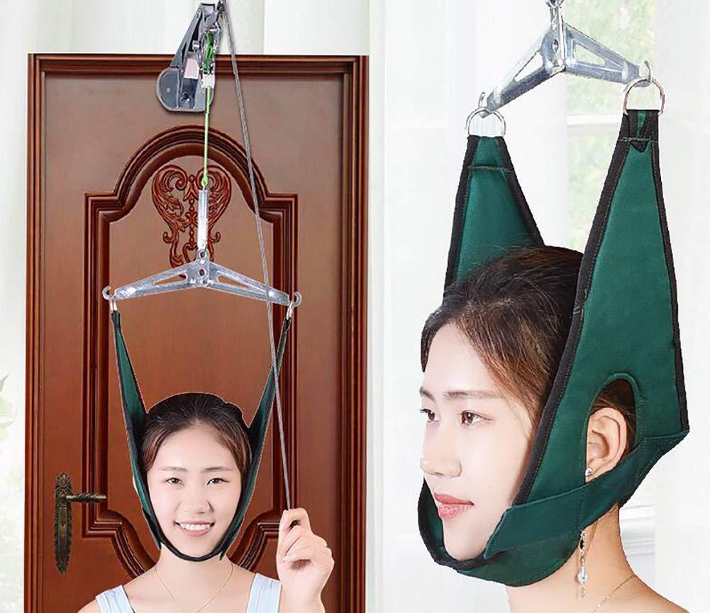BMDHA Neck Traction Device Door Suspension Corrective Cervical Vertebra, Relieve Cervical Pain, Treatment of Cervical Spondylosis