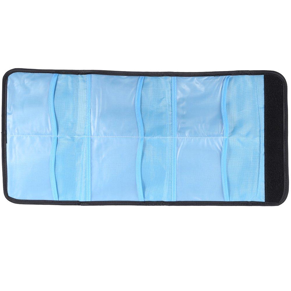 Andoer 13pcs carr?D/égrad?Filtre Couleur Bundle Kit pour Cokin P Series avec Porte-Filtre Bague dadaptation Sac de Rangement + Chiffon de Nettoyage 52mm // 58mm // 62mm // 67mm // 72mm