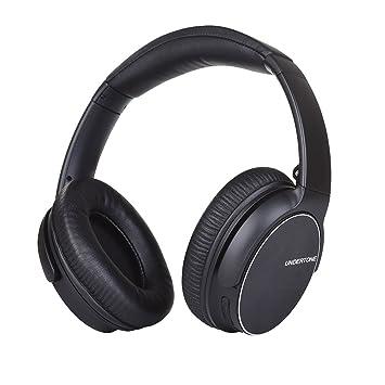 Auriculares Silenciadores Plegables de Bluetooth Inalámbrico, 3D-Sonido Estéreo Soporta para PC/TELÉFONO Celular/TV y Así Sucesivamente(Negro): Amazon.es: ...