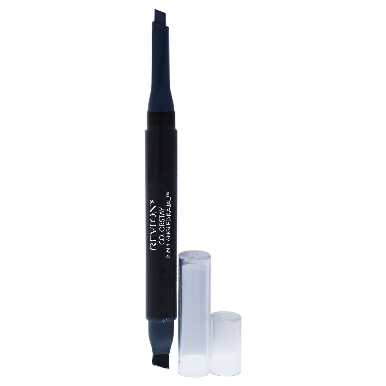 Revlon Colorstay 2-in-1 Angled Kajal Eyeliner, 103 Evergreen, 0.10 Ounce