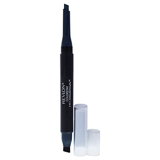 Amazon.com: Revlon Colorstay 2-in-1 Angled Kajal Eyeliner ...