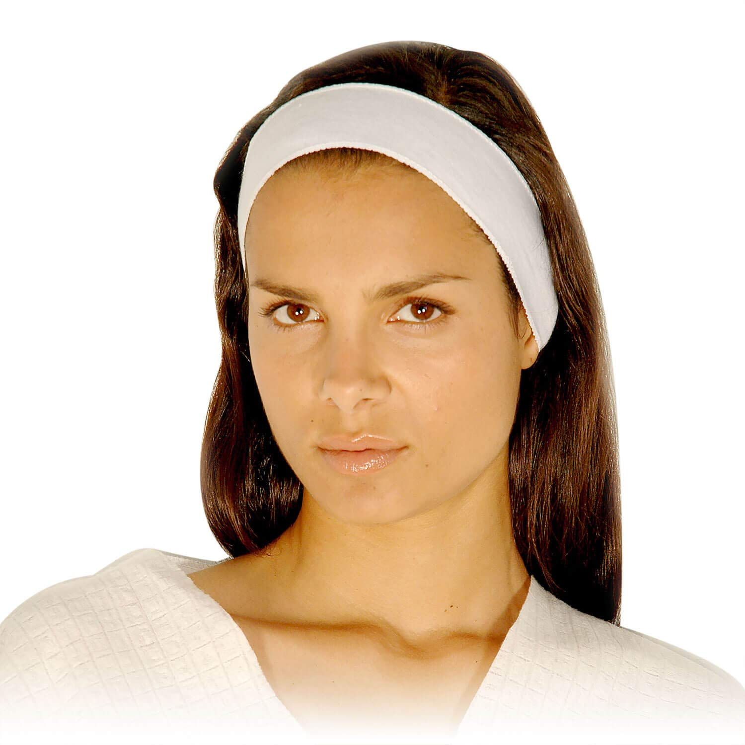 Appearus Disposable Facial Spa Headband - Stretch Cotton Cloth (480 count / AH1051x10) by Appearus