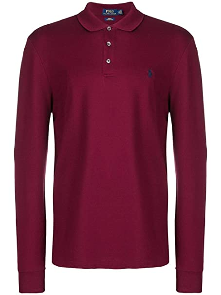 Ralph Lauren Luxury Fashion Hombre 710717285003 Burdeos Polo ...