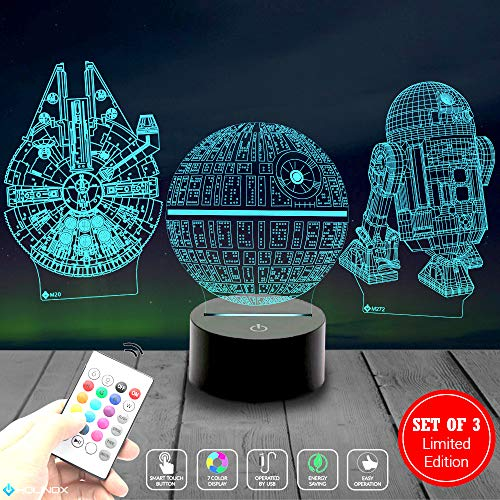 Gift Millennium (Death Star 3D Light Awesome Gift for Star Wars Fans 75159 (MT271) Starwars Gifts)