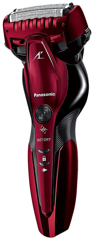 パナソニック ラムダッシュ メンズシェーバー 3枚刃 お風呂剃り可 赤 ES-ST6R-R  赤 B07PSNMKLM
