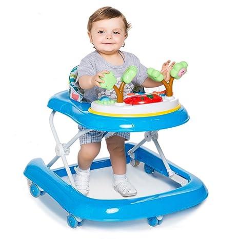 DULPLAY Andador de bebé, 6 - 18 Meses de Seguridad, Primer ...