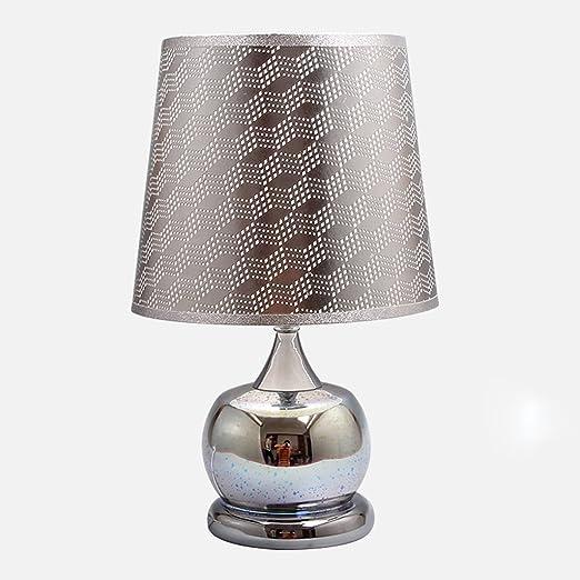 Lampada Da Comodino Argento.Ll Creative Lampada Da Tavolo Camera Lampada Da Comodino Soggiorno