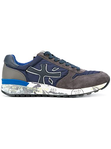 PREMIATA sneakers blu grigio uomo