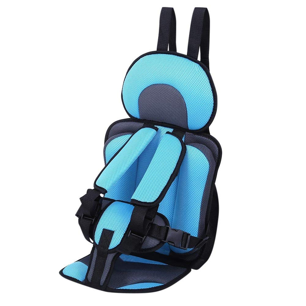Anytec Comfortable Breathable Baby Child Car Safety Booster Seat Safety Strap Belt Harness Chest Kids Clip Buckle Latch Nylon - Ergonomic Baby Carrier Backpack (Griege) Anytec-Baby