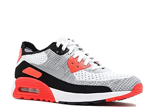 sports shoes 7959c ca756 Nike Air MAX 90 Ultra 2.0 Flyknit - Zapatillas Deportivas para Mujer,  White-Wolf