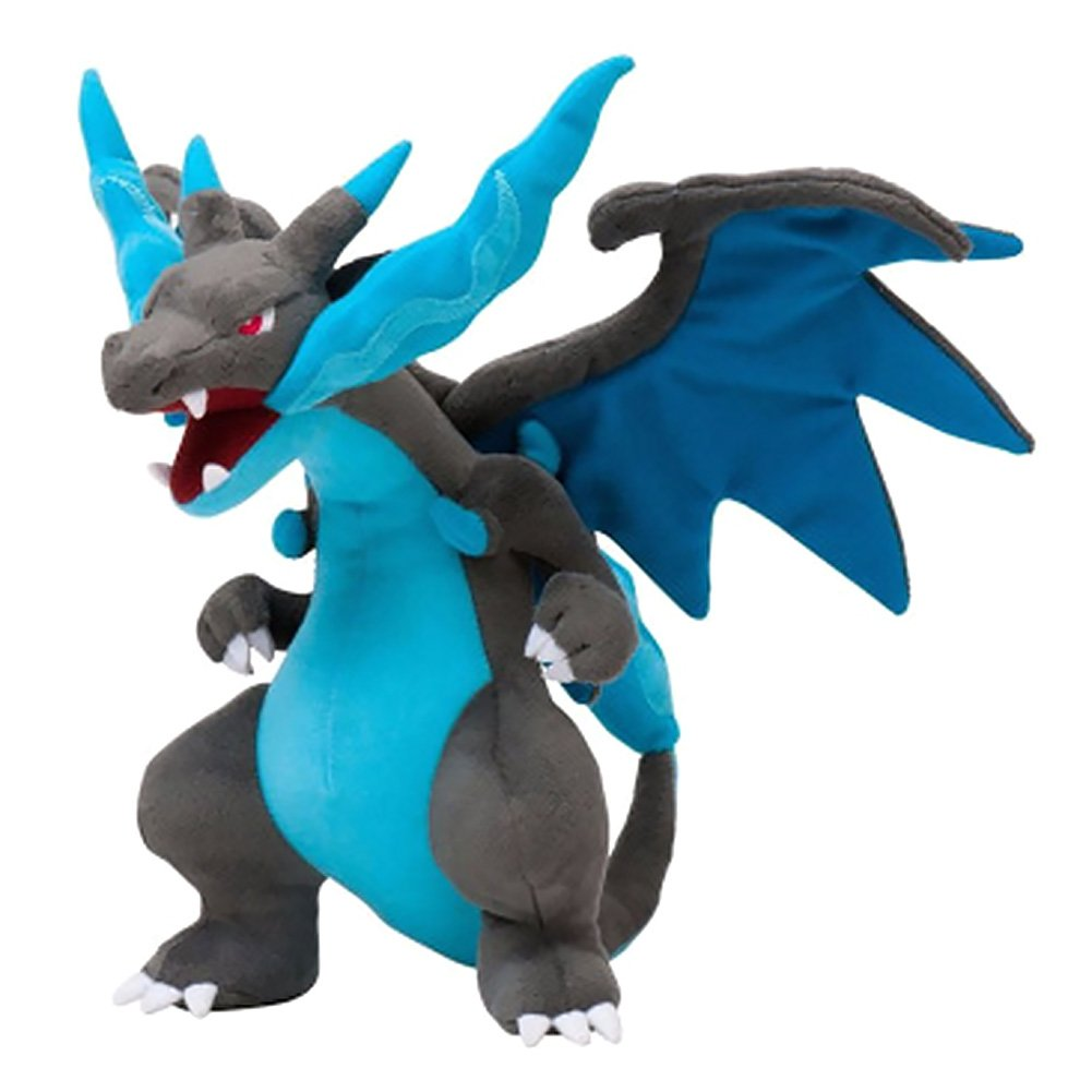 Havenport 9 inch Mega Charizard Figure Animal Toys Plush Doll Collectable Xmas Gift for Kids( Blue) by Havenport