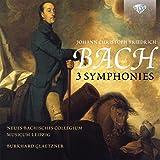 Bach, Johann Christoph Friedrich : 3 Symphonies