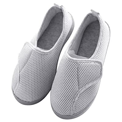 BUYITNOW Women Slippers Nonslip & Breathable House Shoes for Pregnant, Diabetic, Edema | Slippers