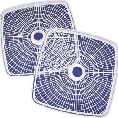 Nesco SQT-2 Add-A-Tray for FD-80 and FD-80A Square Dehydrator, Set of 2