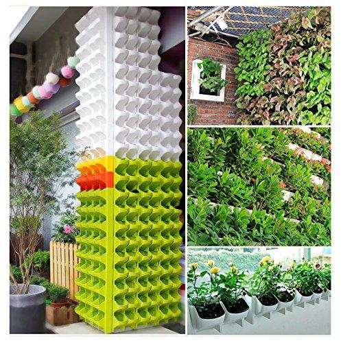 Merveilleux Amazon.com: Adeeing 2 Pocket Vertical Gardening Limited Space Wall Stackable  Planters For Indoor Outdoor Decoration Or Growing Plants: Garden U0026 Outdoor