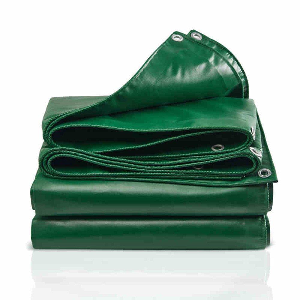 YNN 防水シート(厚さ:0.4mm、-450g/m2、11サイズ)防水シート 防水シート (色 : Green, サイズ さいず : 3 * 3m) B07FNTKYPT 3*3m|Green Green 3*3m