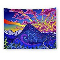 """D C.Supernice Abstract Pattern Tapestry Wall Hanging Magical Thinking Art Tapestry Home Decor 78.7""""x59.1"""""""