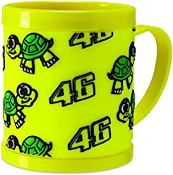 Valentino Rossi Yellow Vr46 Turtle Mug (Default , Yellow)