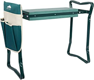 Karmas Product Garden Kneeler and Seat with Free Tool Pouches