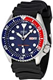 Seiko Men's Analogue Automatic Watch with Rubber Strap SKX009K1