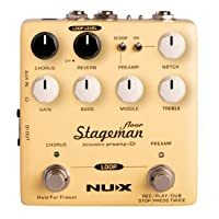 NUX Stageman Floor Acoustic Preamp/DI Pedal
