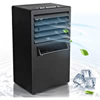 Bellaelegance Air Conditioner Fan Portable Personal Space Cooler Desk Bladeless Quiet for Office Home Bedroom