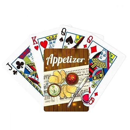 Amazon com: DIYthinker Appetizer Slice of Bread Wine Poker Playing