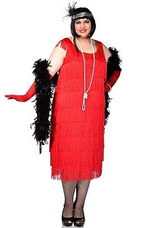 Amazon.com: Elevate Costumes Plus Size Long Deluxe Roarin ...