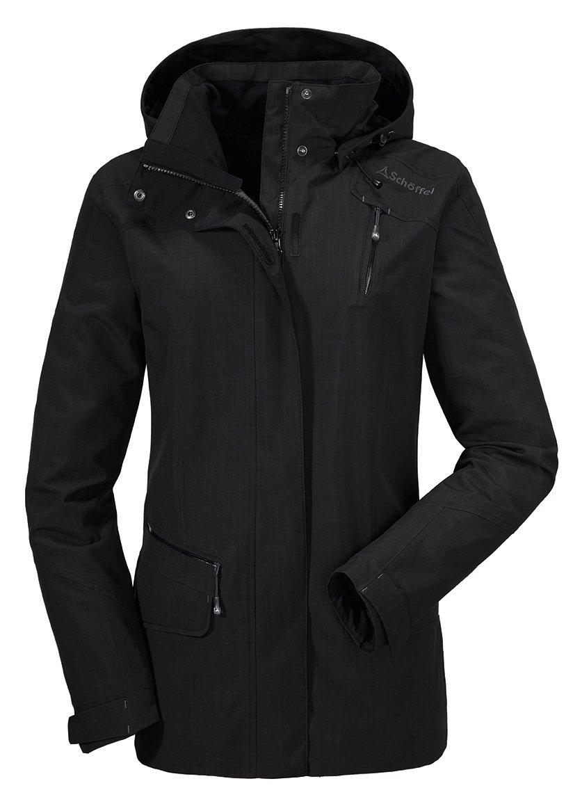 Schwarze winterjacke damen gebraucht moderne sch ne jacken - Schwarze jeansjacke damen ...