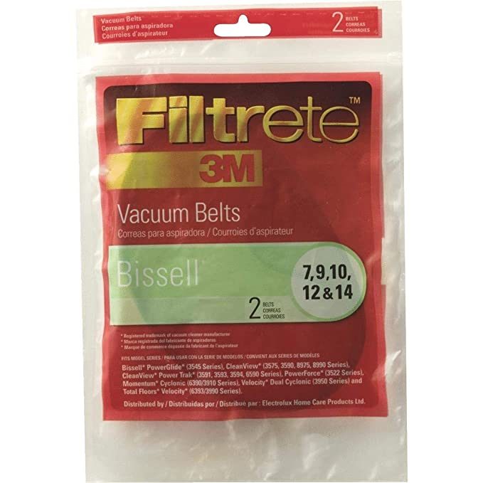 Amazon.com: 3M Bissell Vacuum Belt - 66007-12 (Pack of 10): Home Improvement