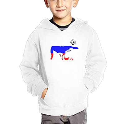 2018 Football Match Russia Boy Cotton Sweatshirt Fashion Pocket Pullover Hooded