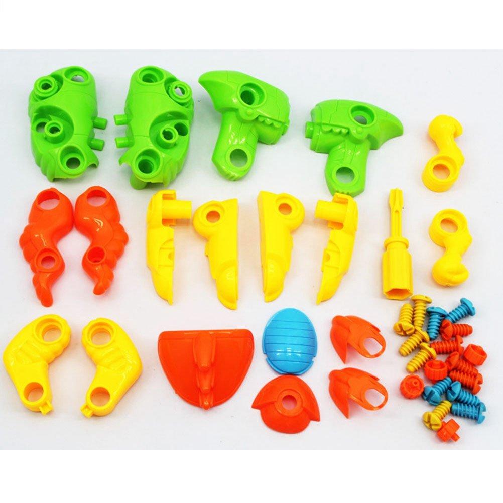 STOBOK Tyrannosaurus Dinosaur Take Apart Toys Set Juguetes educativos de construcci/ón Kit con Herramientas de Regalo para ni/ños ni/ñas ni/ños peque/ños