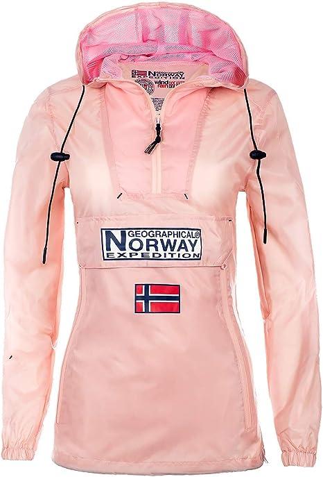 Geographical Norway - Chaqueta cortavientos para mujer
