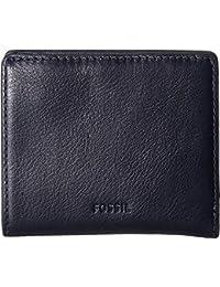 Fossil Emma Rfid Mini Wallet Midnight Navy Wallet