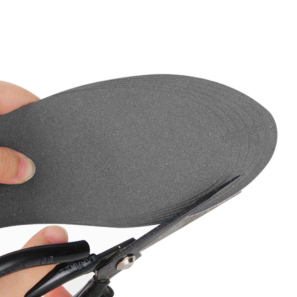 Sunbeter Semelles int/érieures de chaussures de 4D 2 paires mousse de m/émoire soulager des pieds de chaussures de douleur Pads massage respirant pour des femmes et des hommes
