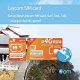 China SIM Card 2GB 4G LTE data + 50 mins local calls or 100 local texts, Free Shipping! Free Incoming Calls and Texts