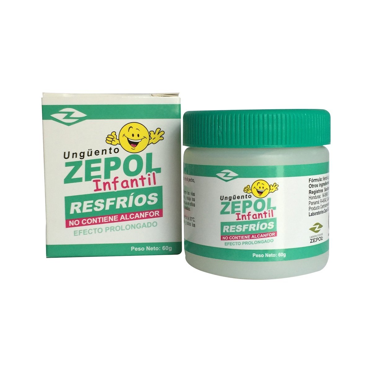 Zepol Ointment Children Colds - 2.1 Oz - 2 Pack