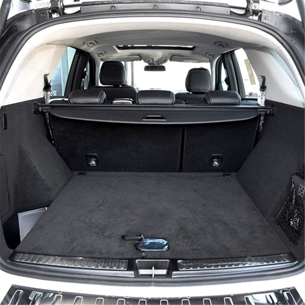 YaeCCC Black Trunk Shielding Shade Cargo Cover Fit for 06-11 Mercedes Benz ML Series ML350