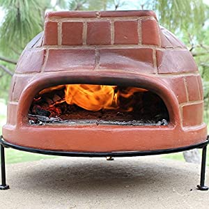 Metal Wood Fired Pizza Oven