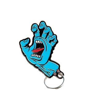 Santa Cruz - Screaming Hand llavero/llavero Skate Board Sk8 ...