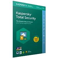 Kaspersky Total Security 2018 | 5 Dispositivi | 1 Anno | PC/Mac/Android | Imballaggio apertura facile certificato