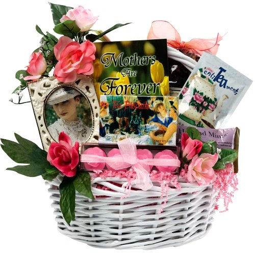 Art of Appreciation Gift Baskets Mothers Are Forever Tea and Treats Food Gift Basket, Small - Gifts, Flowers & Food